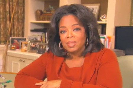 Oprah Winfrey speaks to SheKnows!