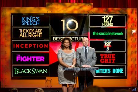 Oscars announced in Hollywood