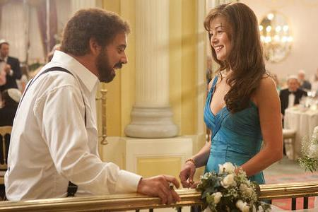 Paul Giamatti and Rosamund Pike in Barney's Version