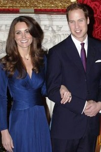 Prince William and Katie Middleton save the date