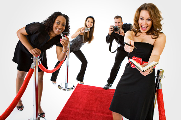Red carpet party