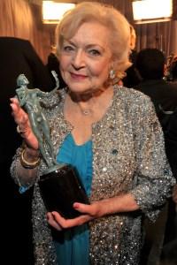 Betty White at the SAG Awards
