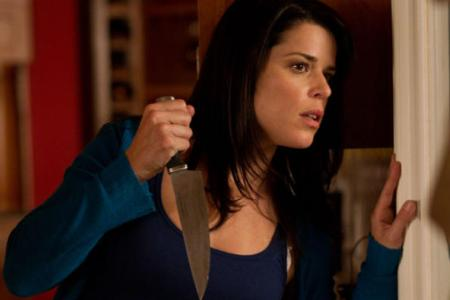 Neve Campbell in Scream 4