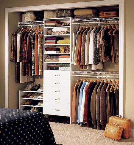 small closet storage