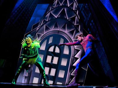 Spider-Man Musical: Turn off the dark