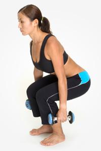 Weight lifting move #1: Squat press