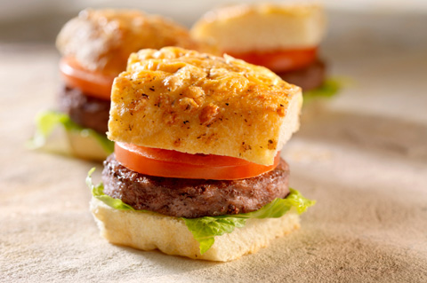 Superbowl sliders for kids