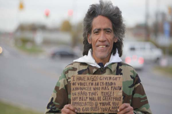Ted Williams: Homeless no more