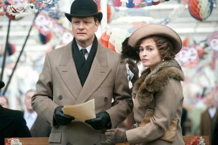 The Kings Speech stars Colin Firth and Helena Bonham Carter