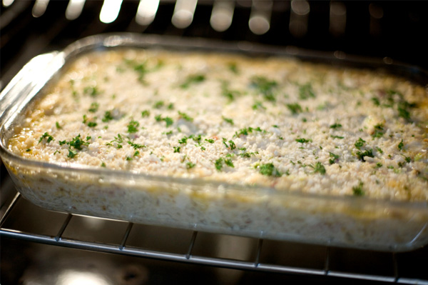 Warm crab dip