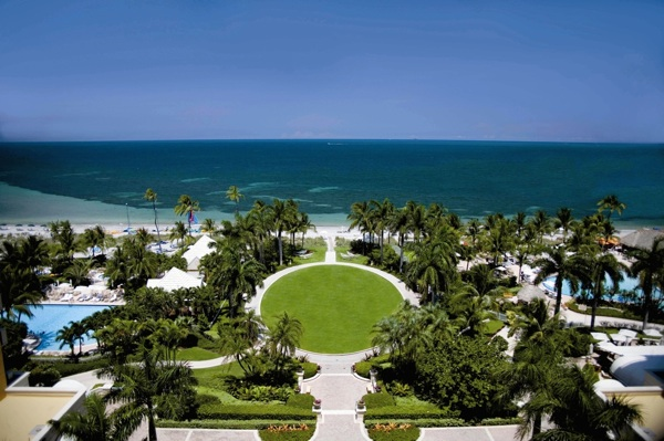Beach view of Key Biscayne