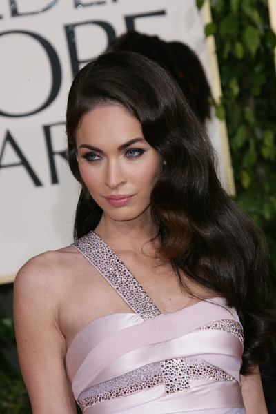 megan fox hair colour. megan fox hair color. megan