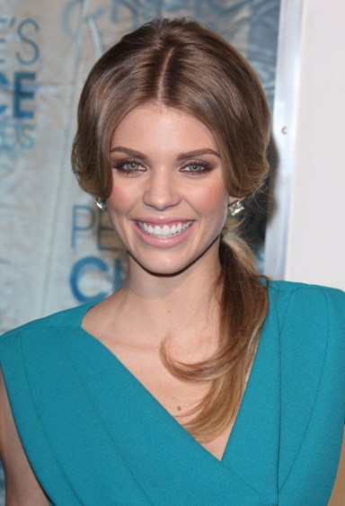 TOP 20 Hollywood's Celebrities Fashionable Ponytails Hairstyle 15 - Annalynne mccord