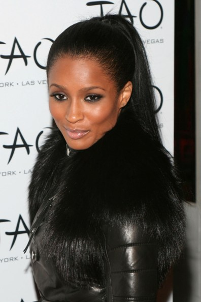 TOP 20 Hollywood's Celebrities Fashionable Ponytails Hairstyle 12 - Ciara