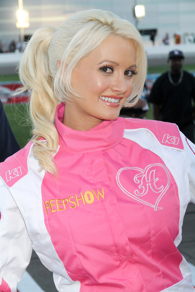 TOP 20 Hollywood's Celebrities Fashionable Ponytails Hairstyle 09 - Holly Madison