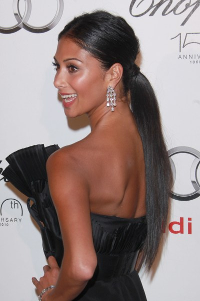 TOP 20 Hollywood's Celebrities Fashionable Ponytails Hairstyle 03 - nicole scherzinger