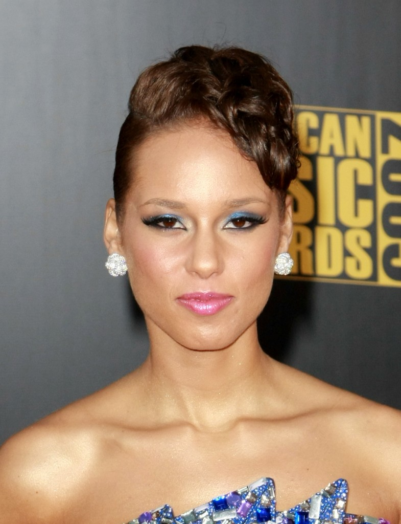Alicia Keys Updo Hairstyles 20  alicia keys