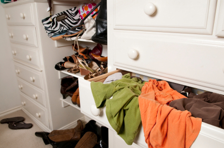 Get your closet organized