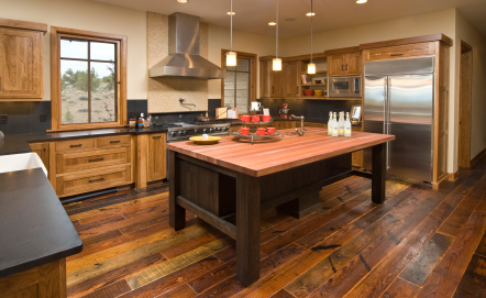 Flooring Trends - Rustic Hardwood