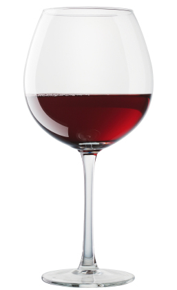 Soft Red Wine Glass