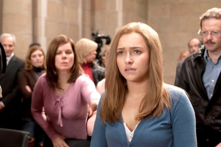 Hayden Panettiere plays Amanda Knox