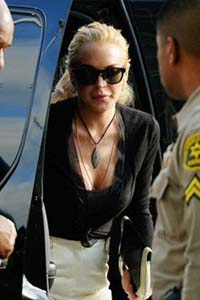 Lohan plea could bring jail time