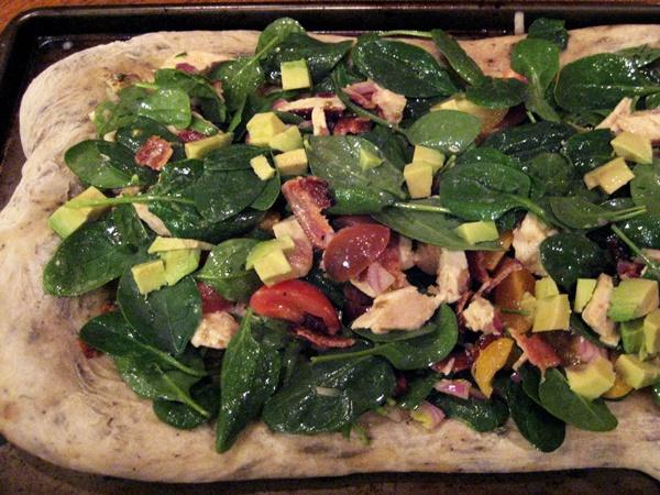 Cobb Salad as a... Pizza?