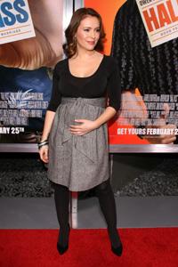 Alyssa Milano pregnancy photos