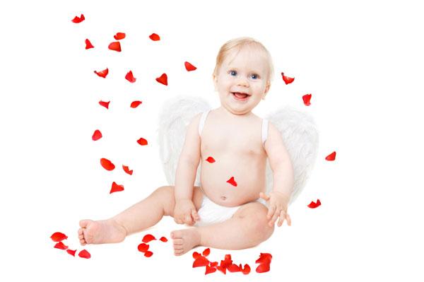 baby girl valentine love angel