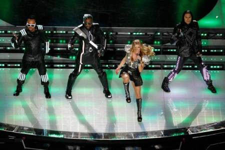 The Black Eyed Peas rock the Super Bowl