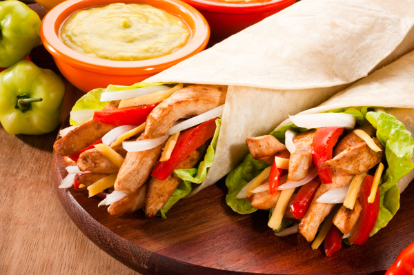Chicken fajita