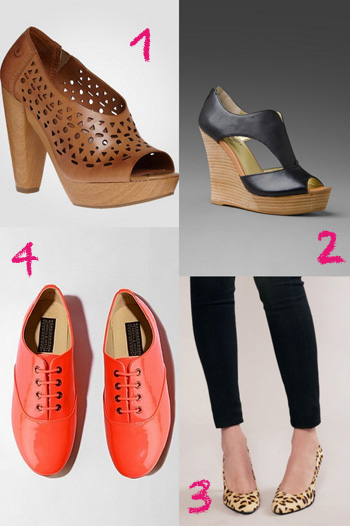 Favorite spring footwear