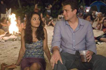 Mila Kunis and Jason Segel explore love in Forgetting Sarah Marshall