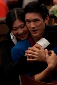 Glee preview: Love is in the air