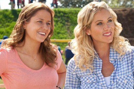 Jenna Fischer and Christina Applegate