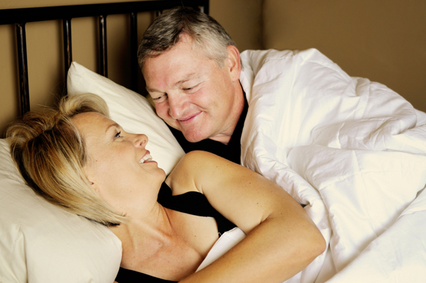 She offers these tips to rev up your sex life with your spouse. Happy couple ...