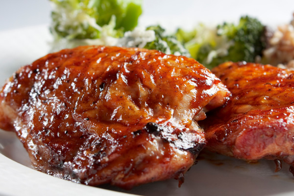 Harissa Rubbed Grilled Chicken