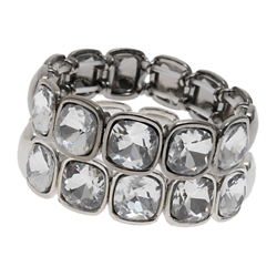Diamond cuff bracelet