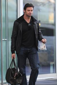 Hugh Jackman packs on the pounds
