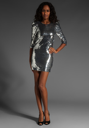 Short sequin dress- JLo replica Grammy dress