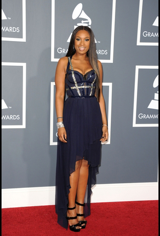 Jennifer Hudson at Grammy Awards 2011