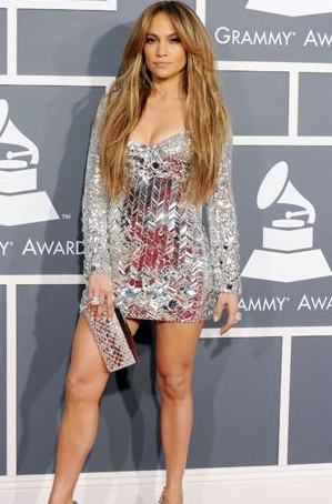 Jennifer Lopez Grammys on Jennifer Lopez Looked Amazing At The 2011 Grammy Awards In This