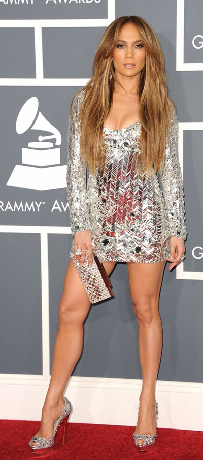 Jennifer Lopez at Grammy Awards 2011