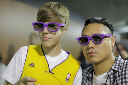 Justin Bieber and Never Say Never director John Chu