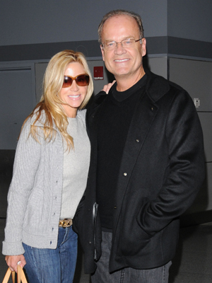 Kelsey Grammer and Camille Grammer