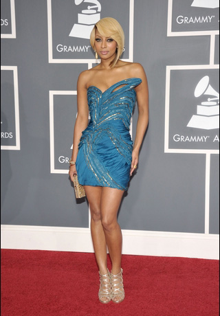 Keri Hilson at Grammy Awards
