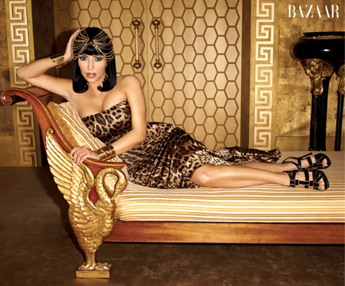 Kim Kardashian as Cleopatra