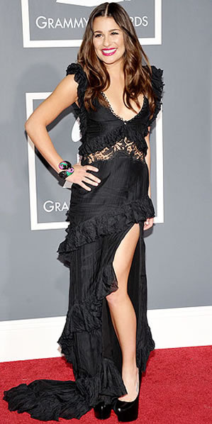 Lea Michele at Grammy Awards