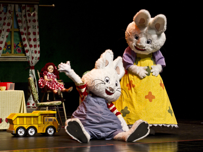 Max & Ruby bunny party
