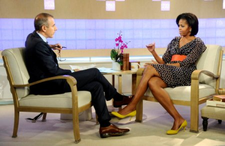 Michelle Obama on the Today Show